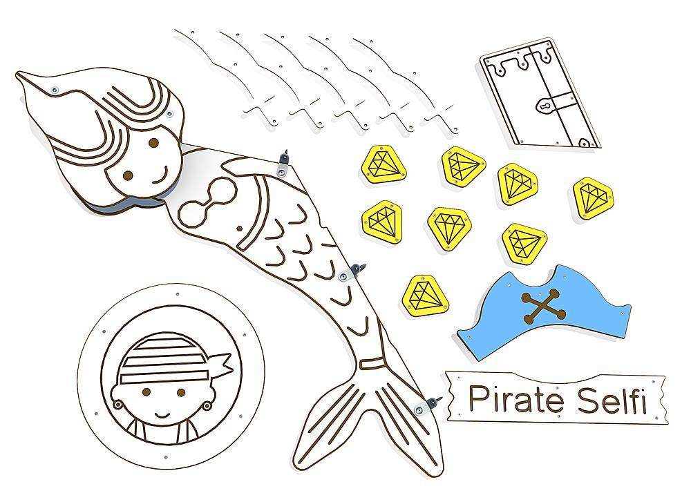 Dekoration Piraten für Primo Victoria