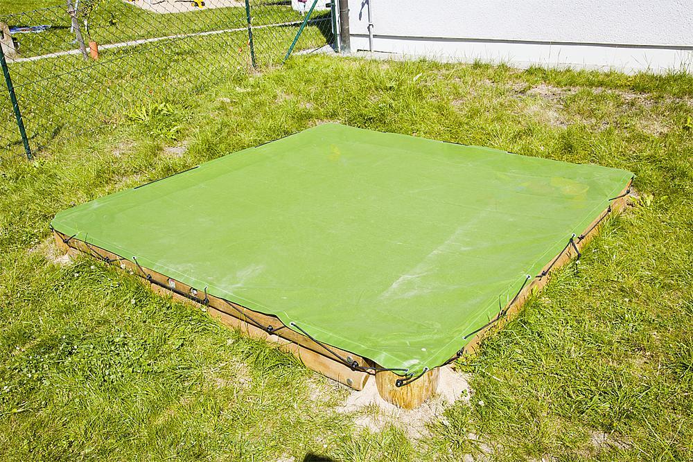 Sandkastenabdeckung Quadrat 260