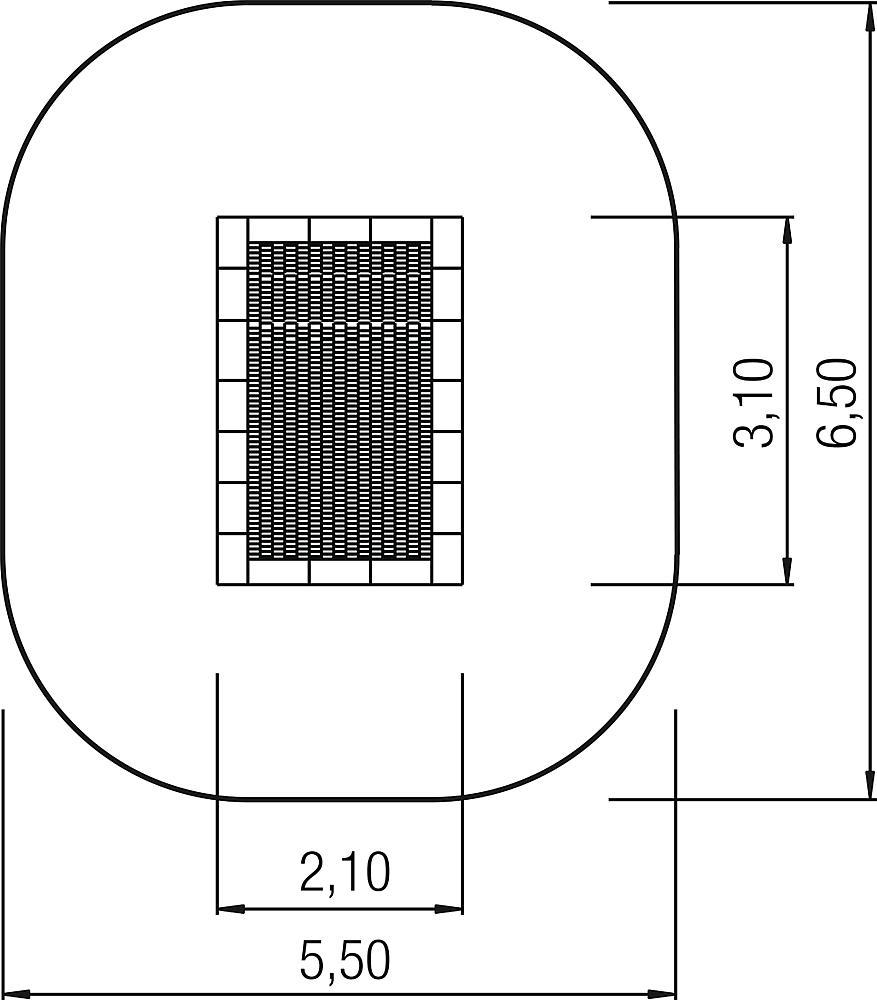 Bodentrampolin Jump XL 2x3 m