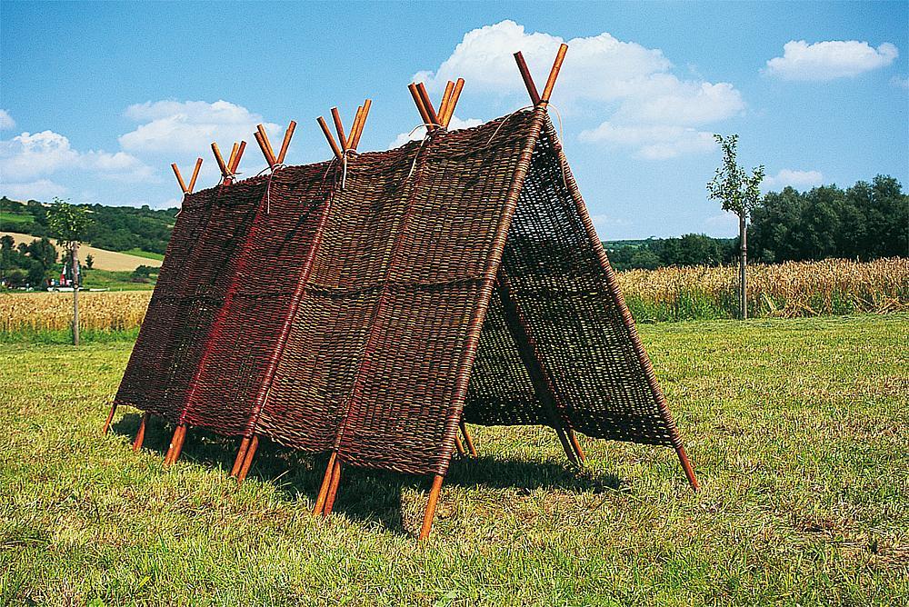 Weidenpyramide 2-tlg.