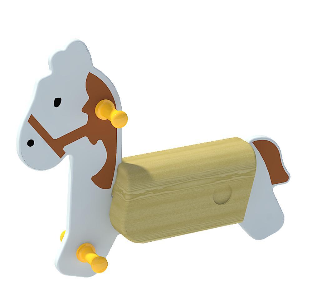 Federwippe Pferd ohne Feder