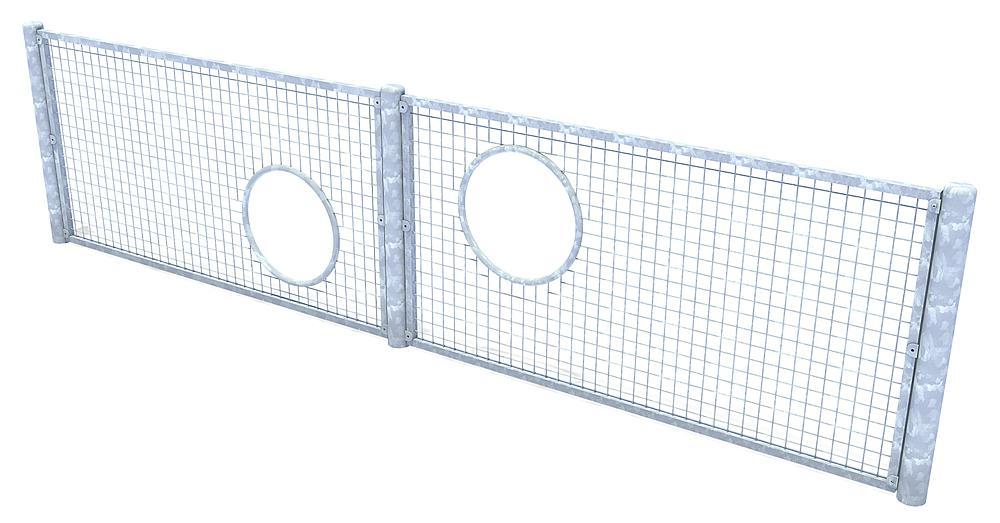 Fußball-Tennis-Wand
