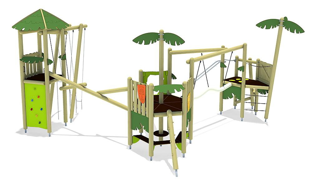Spielanlage Isla de Patos, Solo