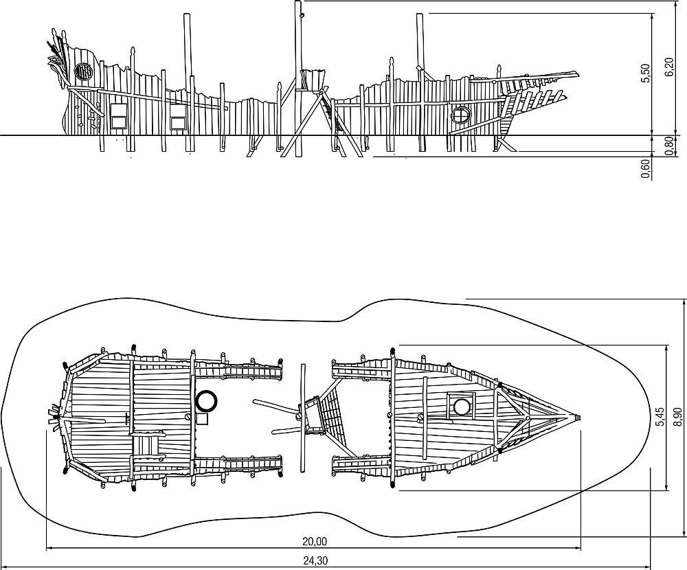 Spielschiff Black Ocean