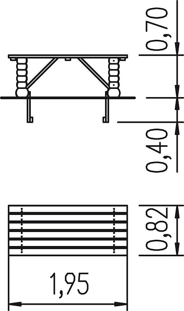 Tisch Schkeud
