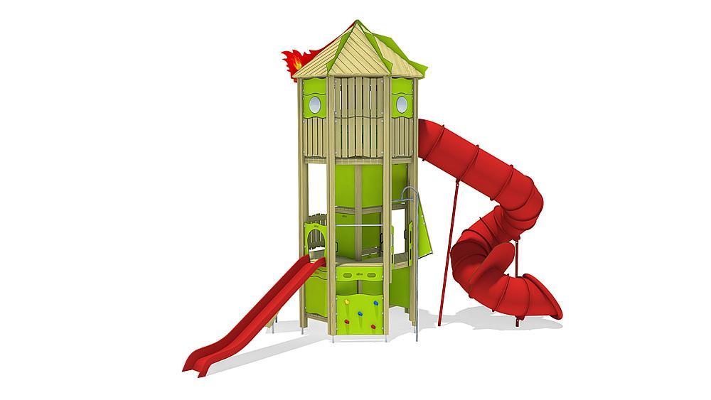 Feuerwehrturm, Solo