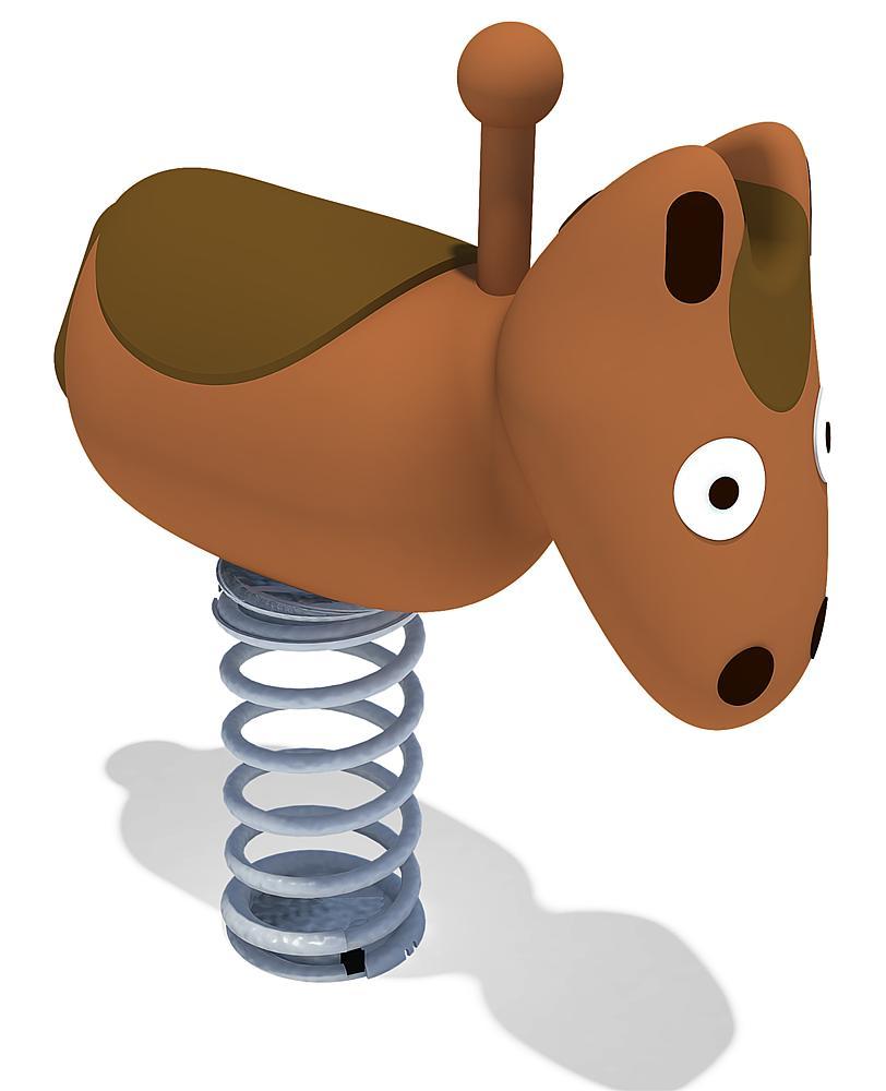 Federwippe Pony