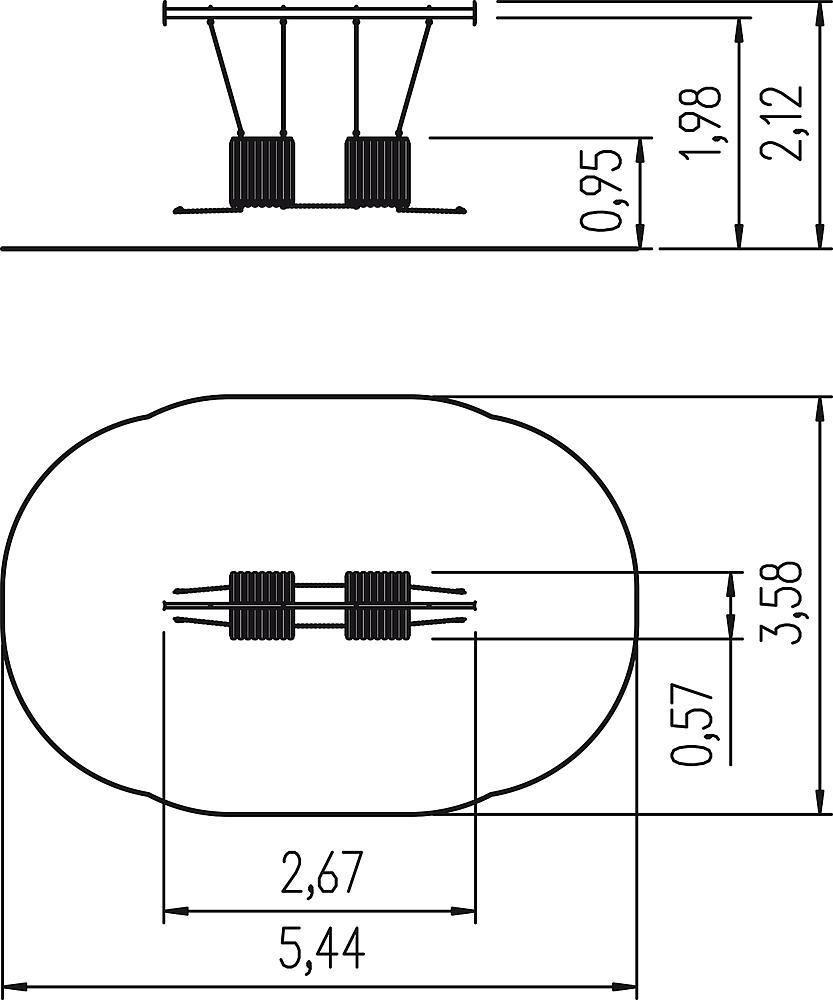 Schwebetunnel Übergang M7