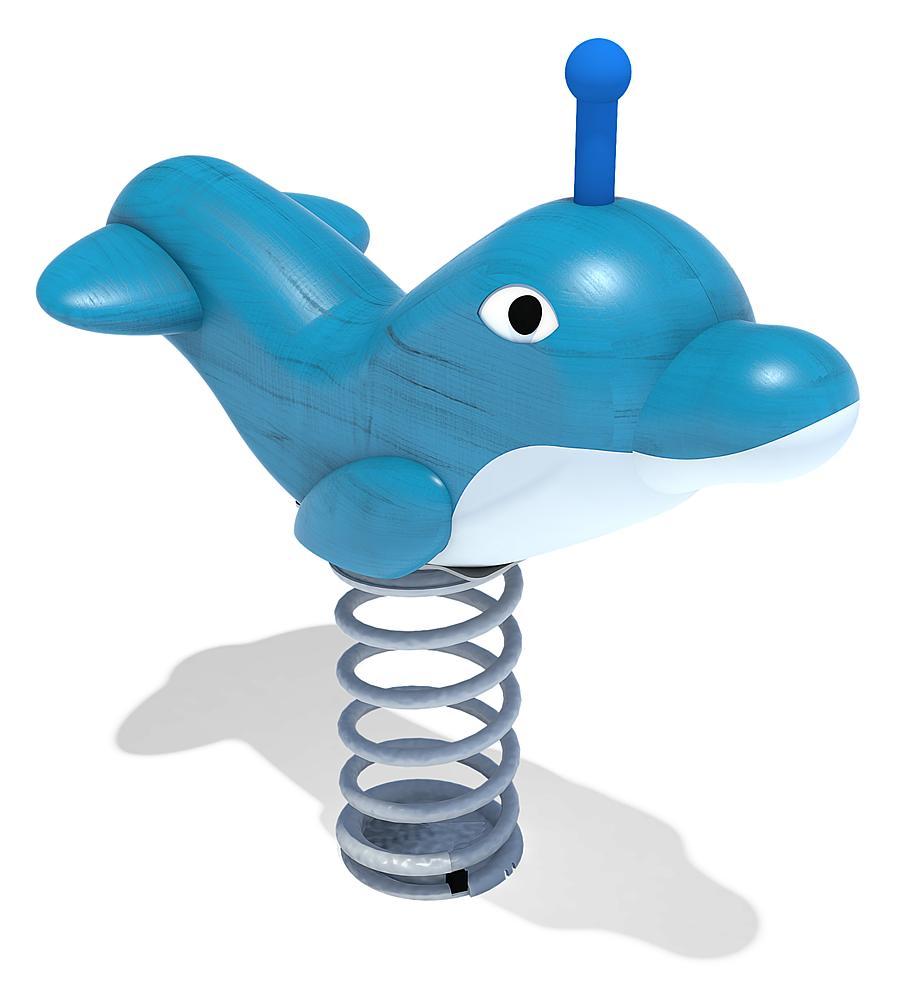 Federwippe Delfin