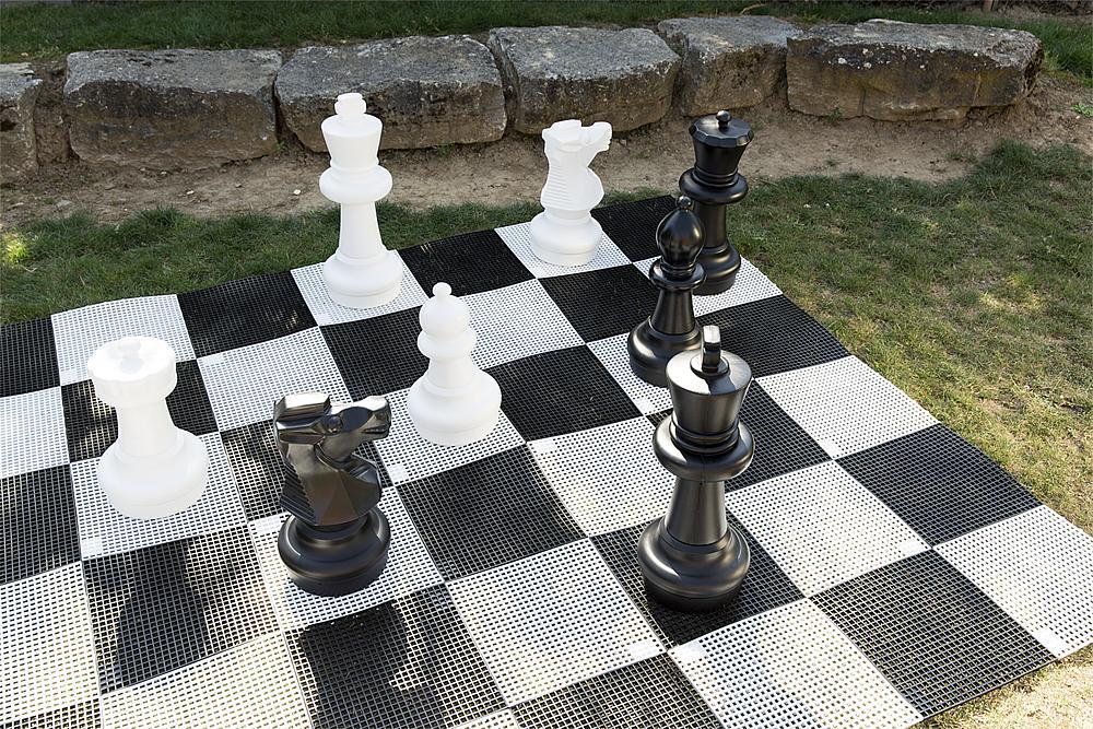 Spielfeld Schach/Dame