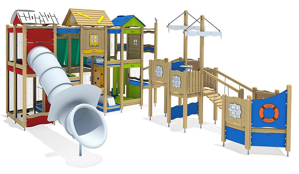 Indoorspielanlage Hafen
