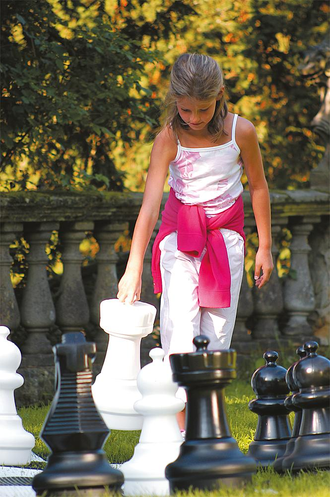 Schachfiguren Freiland