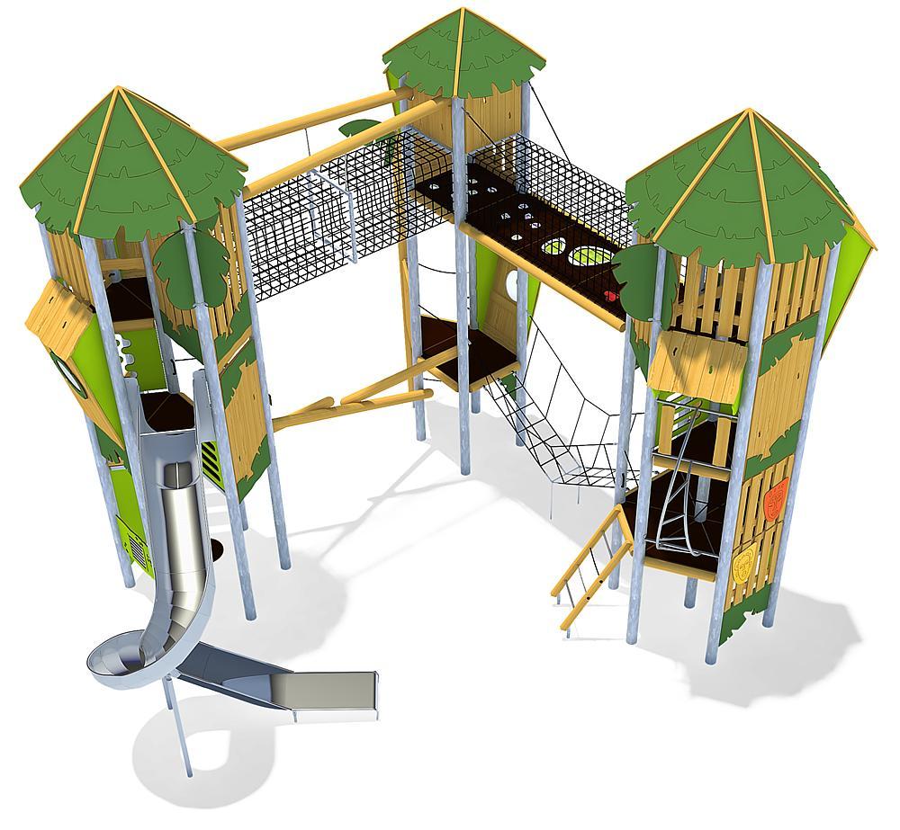 Spielanlage Montagu Island, Solo