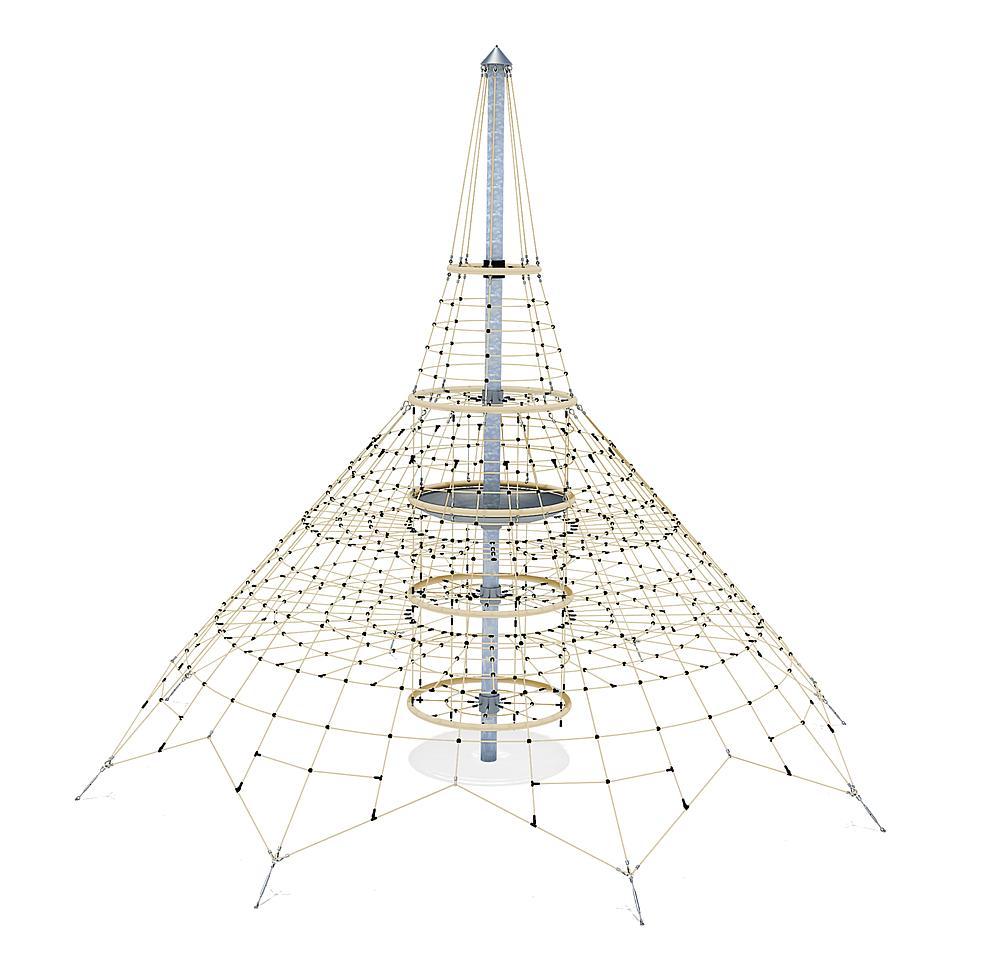 Seilnetz Pyramide XXL