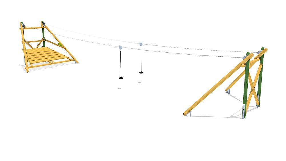 Seilbahn Sierra Duo 20 m