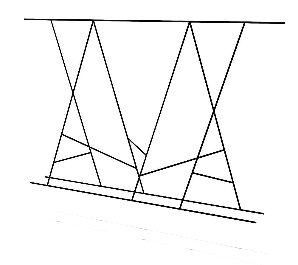 Seilgewirr Übergang S7