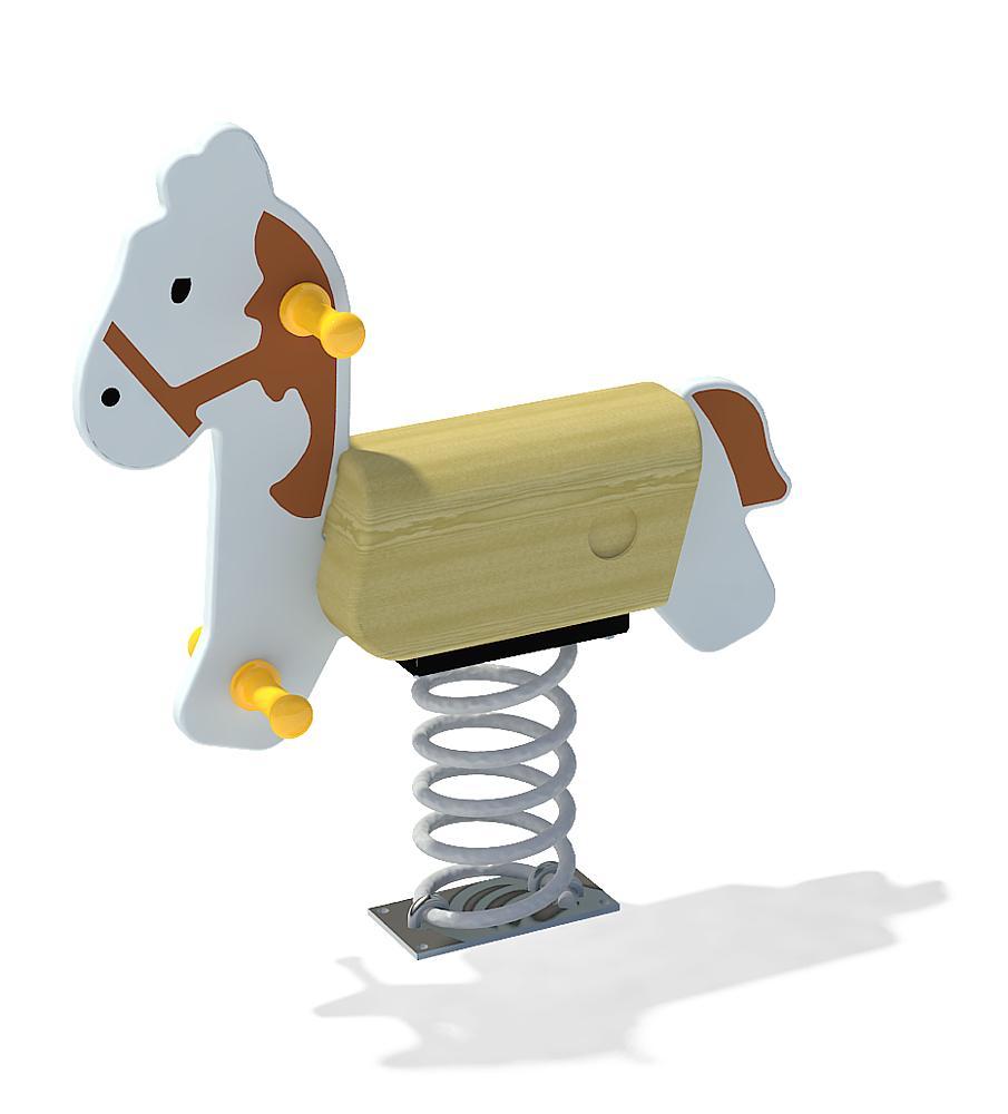 Federwippe Pferd