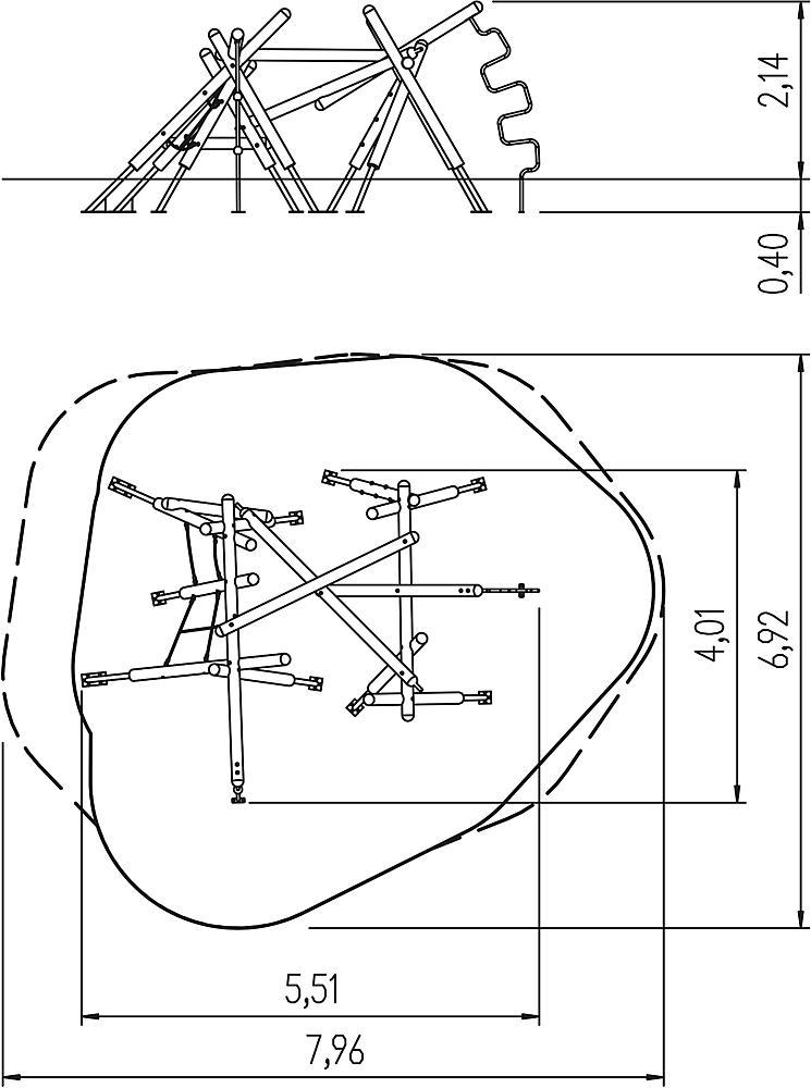 Kletterstruktur mittel Nerea