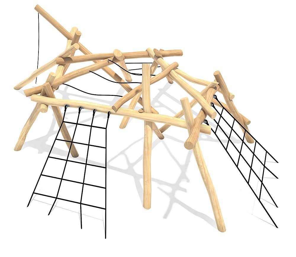 Spielanlage Kletterwald Ema