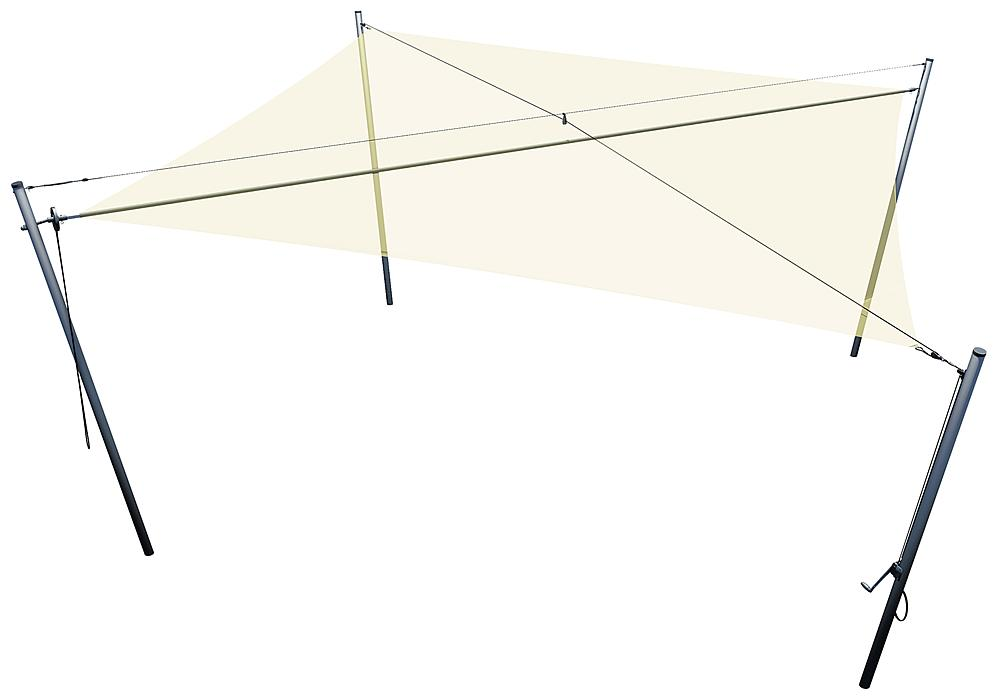 Sonnenschutz Quadrat 6x6 m