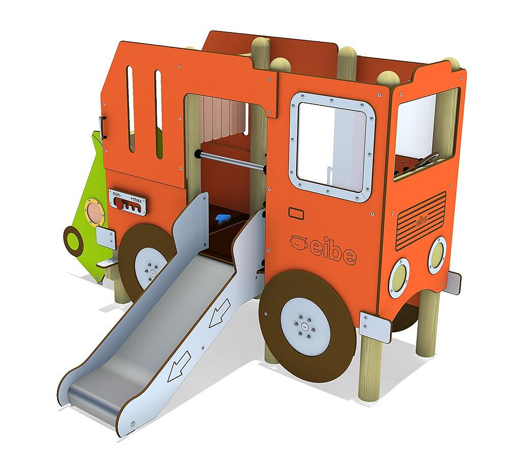 Spielanlage Müllauto