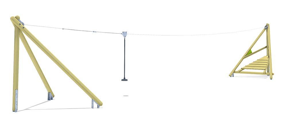 Seilbahn Sierra 20 m
